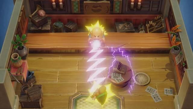 Cómo robar objetos de la tienda en Zelda: Link's Awakening