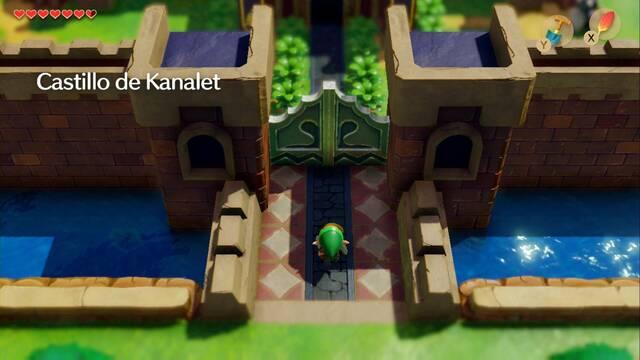 Castillo de Kanalet en Zelda: Link's Awakening: secretos y 100%