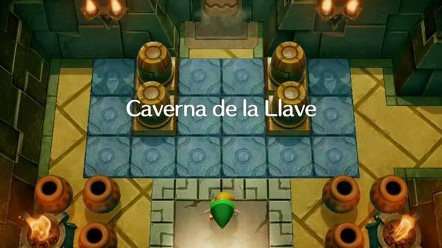 Caverna de la Llave en Zelda: Link's Awakening: secretos y 100%