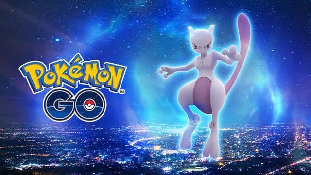 MewTwo llega a las incursiones EX de Pokémon GO con ataque Bola Sombra