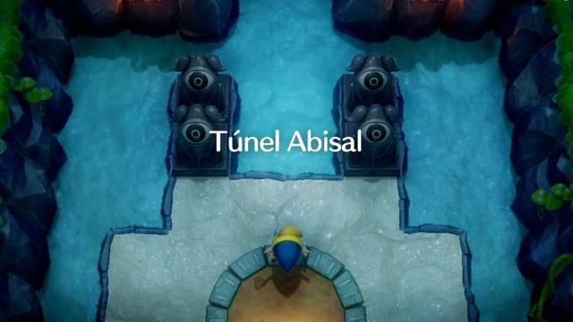 Túnel Abisal en Zelda: Link's Awakening: secretos y 100%