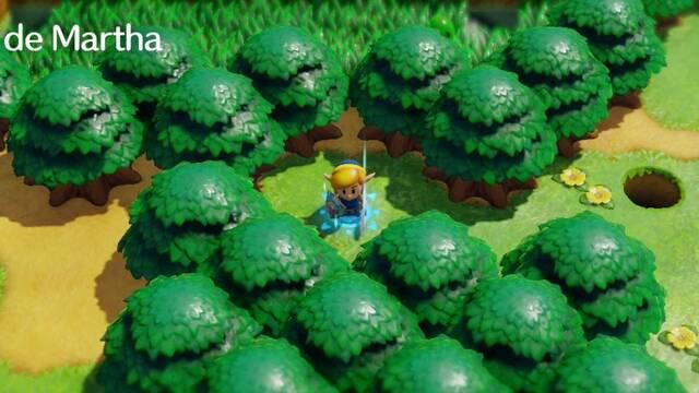 Bahía de Martha en Zelda: Link's Awakening: secretos y 100%