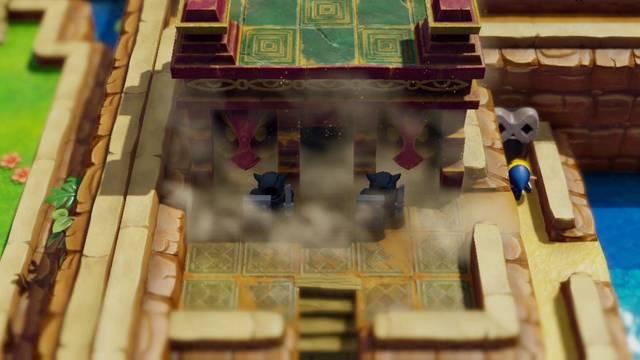 Viaje hacia el Templo en Zelda: Link's Awakening: secretos y 100%