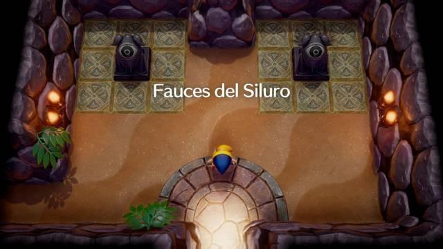 Fauces del Siluro en Zelda: Link's Awakening: secretos y 100%