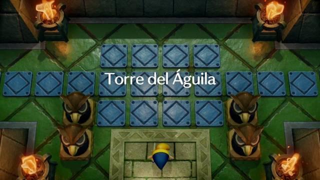 Torre del Águila en Zelda: Link's Awakening: secretos y 100%