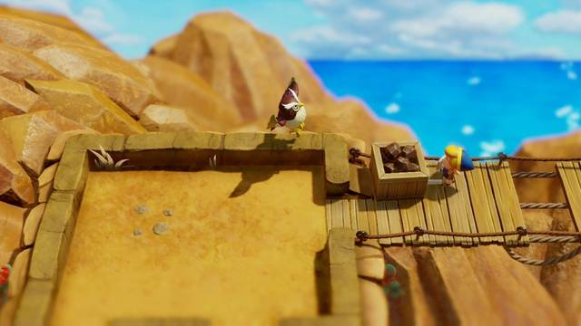 Oeste de la cordillera Tal Tal en Zelda: Link's Awakening: secretos y 100%