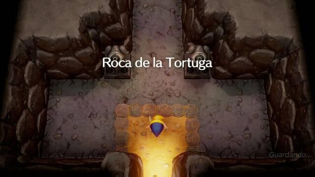 Roca de la tortuga en Zelda: Link's Awakening: secretos y 100%