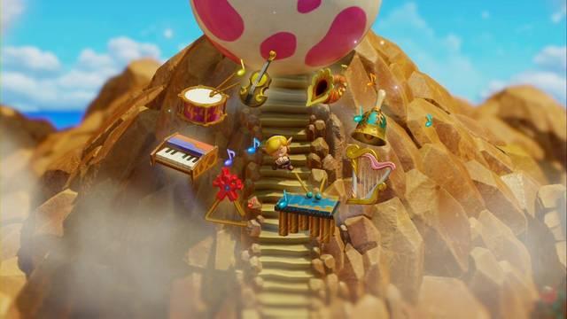 El Huevo en Zelda: Link's Awakening: secretos y 100%