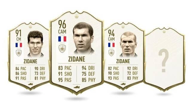 FIFA 20: Reveladas las estadísticas de los nuevos iconos de FUT