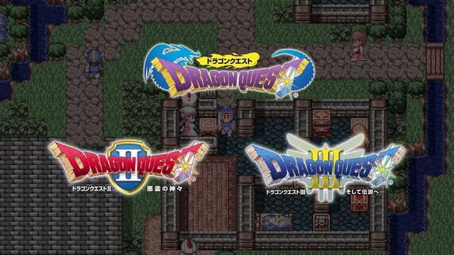 Los primeros tres títulos de Dragon Quest se publicarán en Japón para Switch