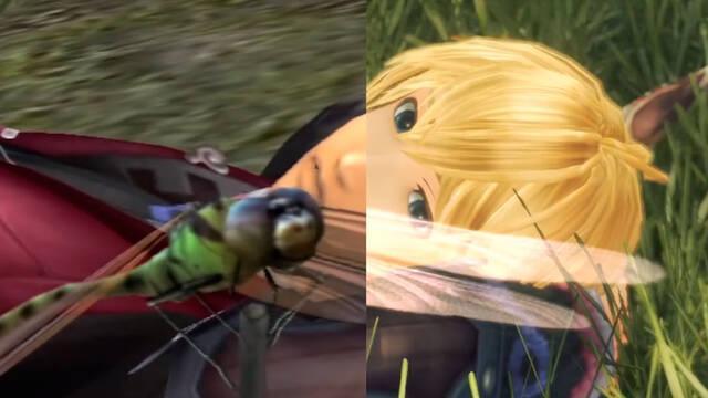 Comparan Xenoblade Chronicles de Wii con la Definitive Edition de Switch