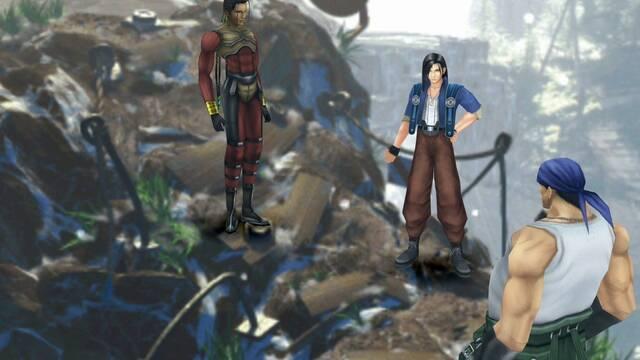 Laguna y el dragón en Final Fantasy VIII: 100% y secretos