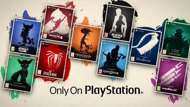 God of War, The Last of Us y más Solo en PlayStation tendrán carátulas minimalistas en UK