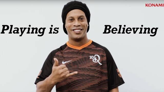 Ronaldinho ficha por Konami y estará en eFootball PES 2020