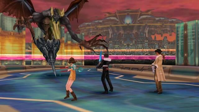 Elnoir y magias artema infinitas en Final Fantasy VIII