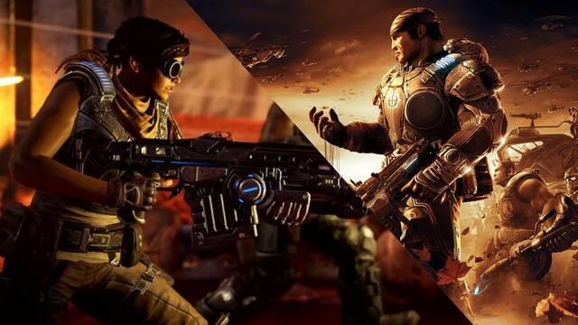 Gears 5: Comparan como Gears of War 2 tiene mejores efectos de físicas y sangre