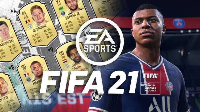 Los 10 mejores jugadores de FIFA 21.