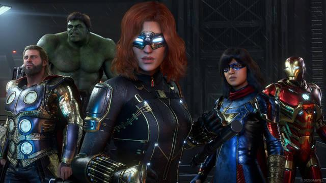 Abordaje de cámara al 100% en Marvel's Avengers