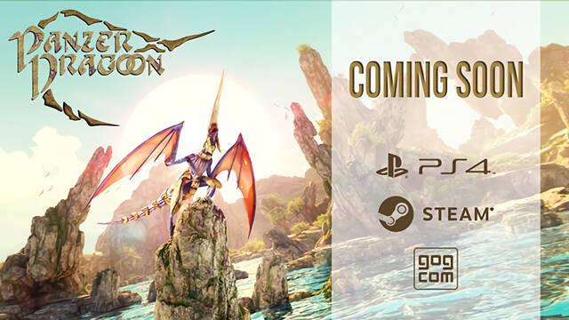 Panzer Dragoon: Remake llegará pronto a PS4 y PC, y un poco después a Xbox One.