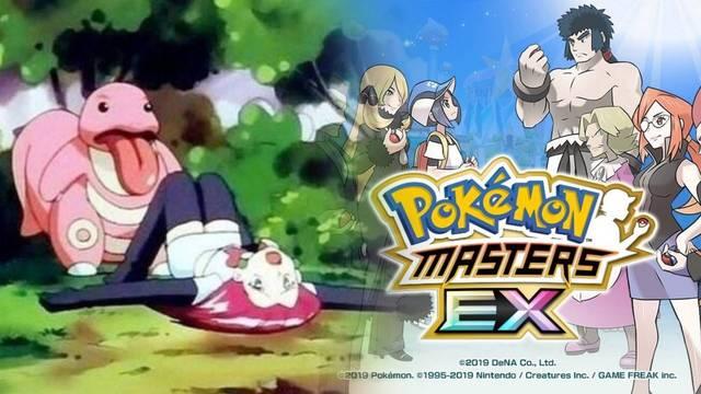 Pokémon Masters EX se promociona en Twitter con un desafortunado hashtag.