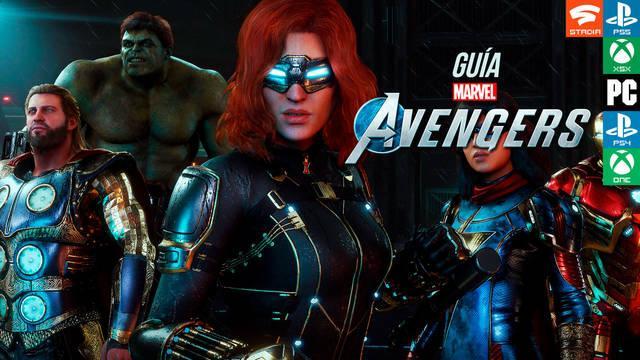 Guía Marvel's Avengers, trucos, consejos y secretos