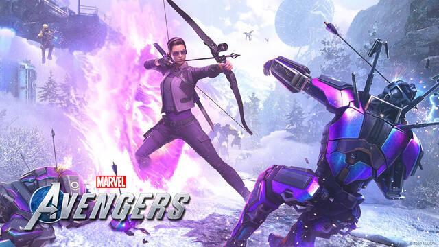 Marvel's Avengers Kate Bishop anuncio