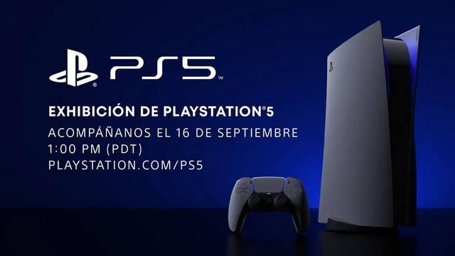 Evento de la fecha de lanzamiento de PS5.