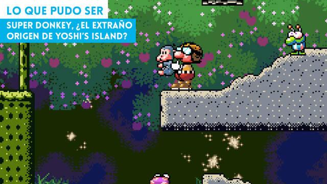 Super Donkey, ¿el extraño origen de Yoshi's Island?