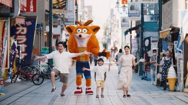 Crash Bandicoot 4 y su anuncio japonés