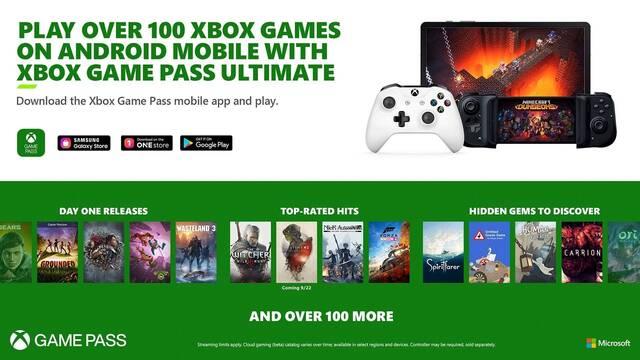 xCloud llega mañana a Xbox Game Pass Ultimate en España.