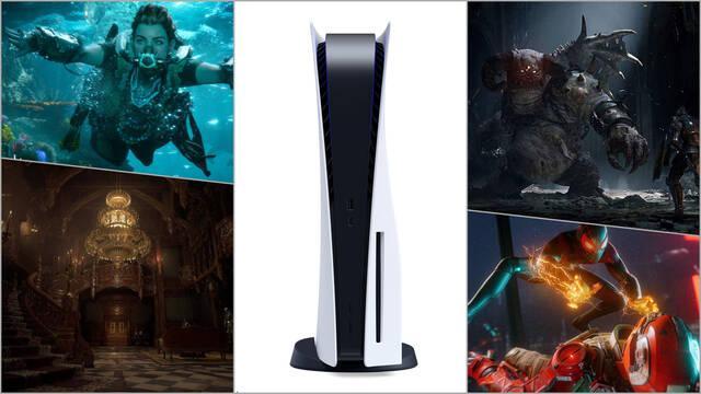 PlayStation 5 presentación showcase hora fecha juegos