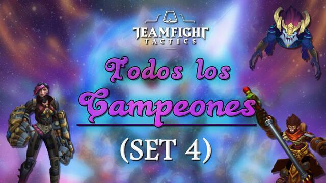 TODOS los Campeones / Personajes de Teamfight Tactics (TFT) y sus habilidades