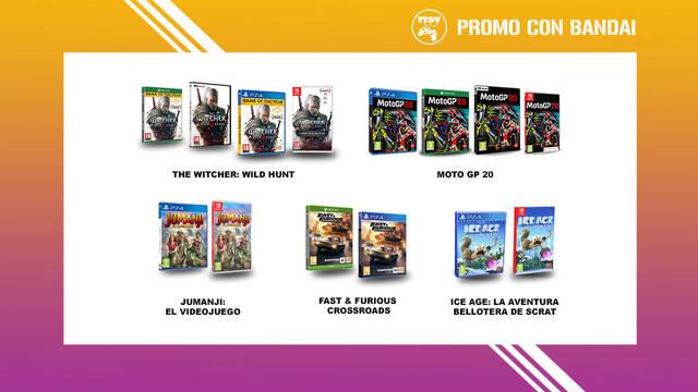 Tu Tienda De Videojuegos Bandai Namco