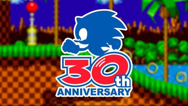 Sonic 30º aniversario Sega