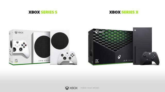 Desveladas las cajas de Xbox Series X y Series S.
