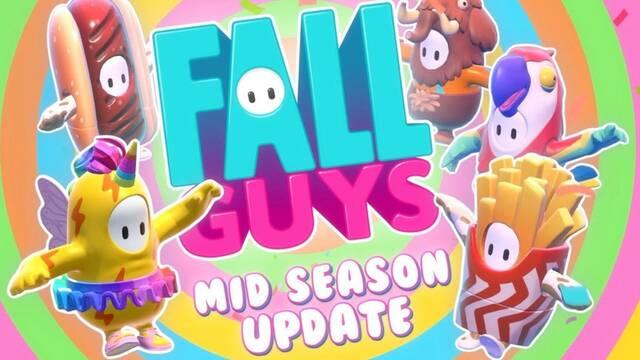 Fall Guys recibe una actualización de mitad de temporada.