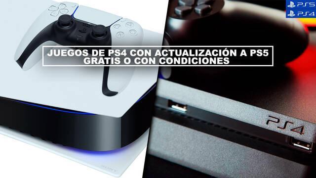Juegos de PS4 con actualización a PS5 gratis o con condiciones