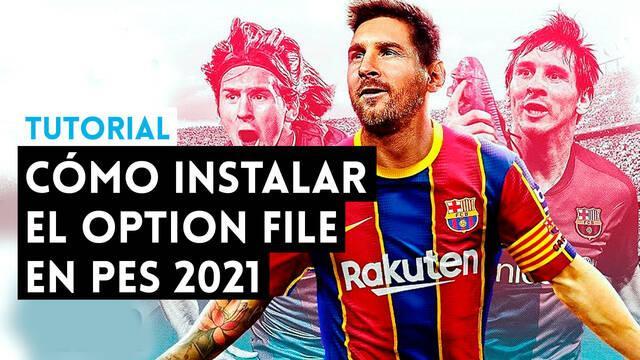 Tutprial: Como instalar un Option File en PES 2021 para PS4