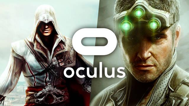 Assassins' Creed y Splinter Cell realidad virtual Oculus Ubisoft Facebook