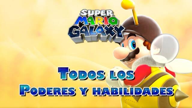 Super Mario Galaxy: Todos los poderes y habilidades y cómo conseguirlos