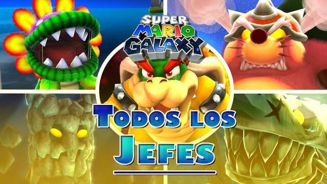 Super Mario Galaxy: TODOS los jefes finales y cómo derrotarlos