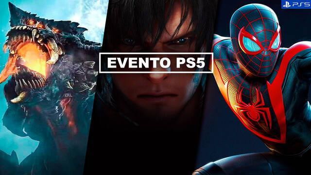 PS5 resumen evento