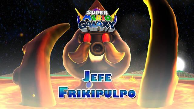 Frikipulpo en Super Mario Galaxy: ¿Cómo derrotarlo?
