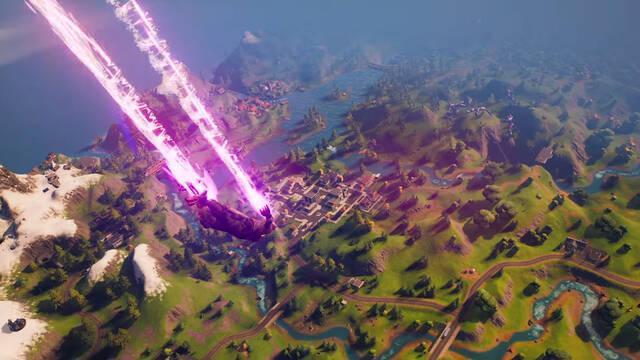 Fortnite Battle Royale PS5 gameplay tráiler