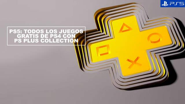 PS5: Todos los juegos gratis con PS Plus Collection
