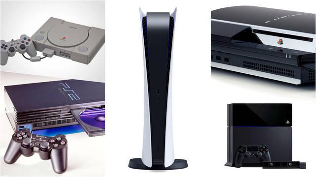 PS5 PS4 PS3 PS2 PSX juegos lanzamiento