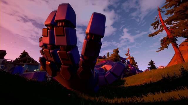 Desafío Fortnite: Dispara todas las manos de Sentinel sin tocar el suelo - SOLUCIÓN