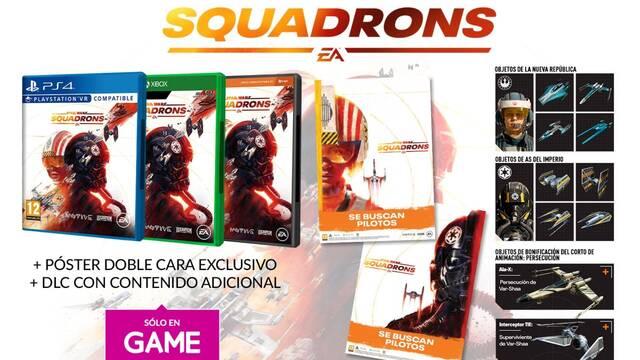 Abiertas las reservas de Star Wars: Squadrons en GAME.