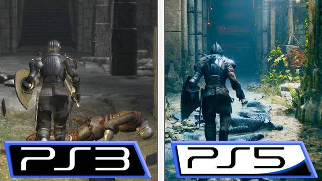 Comparativa: Demon's Souls PS5 VS. Demon's Souls PS3