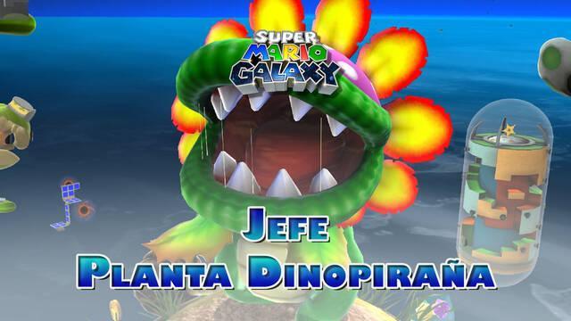 Planta Dinopiraña en Super Mario Galaxy: ¿Cómo derrotarla?